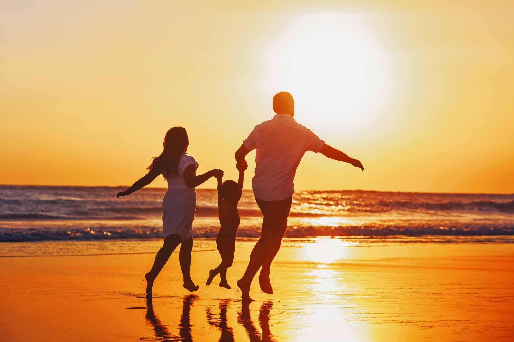 Sunset-Family
