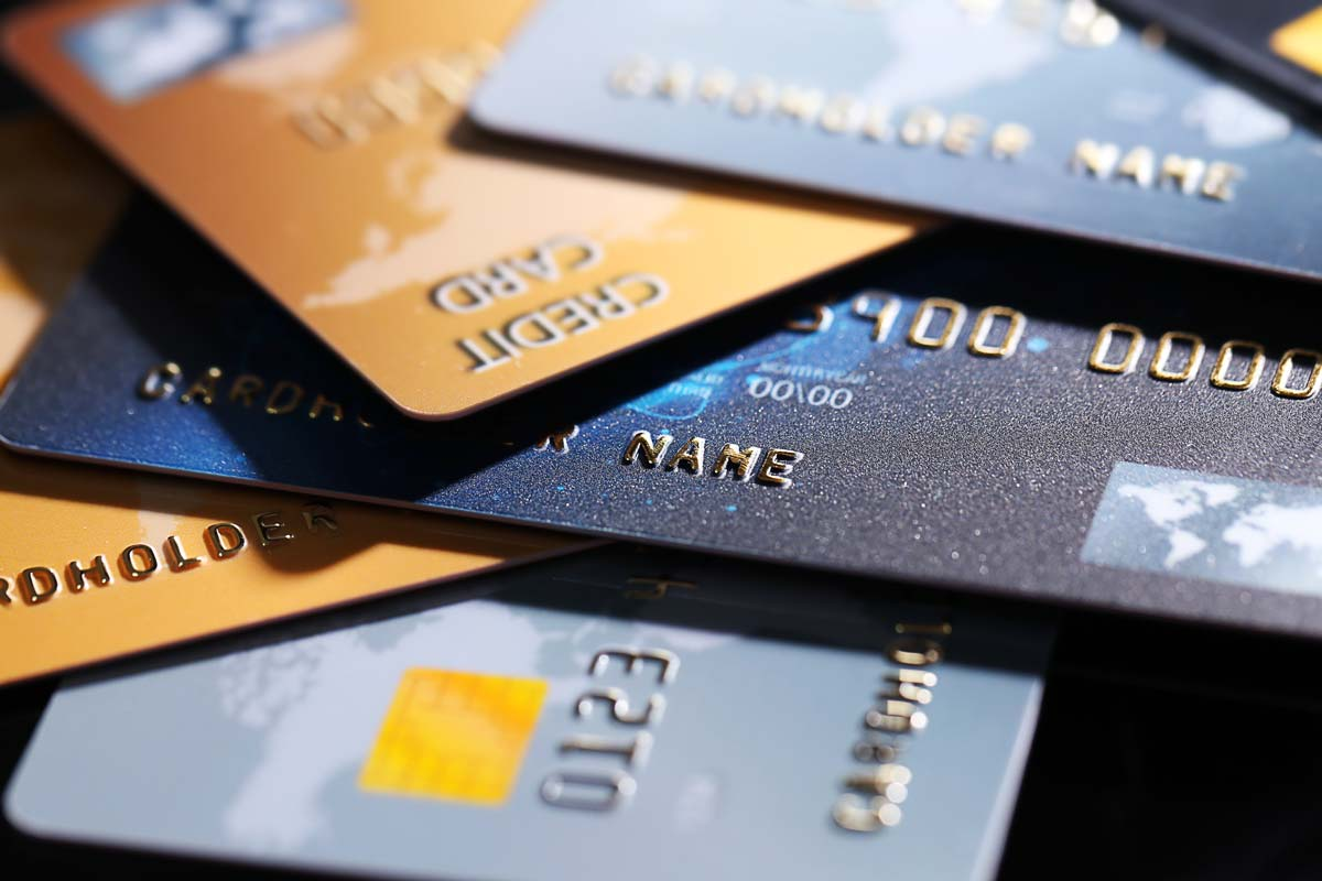 Different credit cards